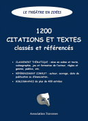 1200 citations et textes sur le théâtre